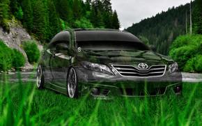 ������: Tony Kokhan, Toyota, Camry, Crystal, Nature, Green, Grass, Photoshop, Style, el Tony Cars, HD Wallpapers, ���� �����, �������, ������, ������, �����, ����������, �������, �������, �����, ����, 2014
