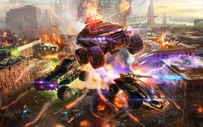 Фантастика: город, война, машины