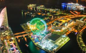 �����: Minato Mirai, Yokohama, Japan.