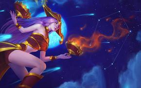����: heroes-of-newerth, libra, hat, girl, justice