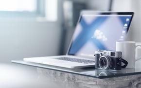 Hi-tech: Fuji X100S, камера, фон