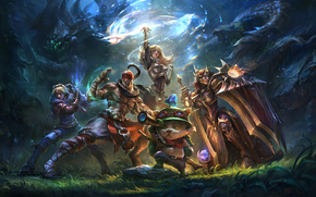Фантастика: league of legends, wallpaper, фантастика