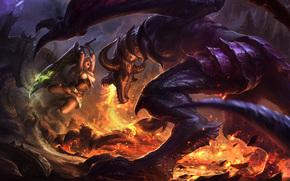����������: league of legends, wallpaper, ����������
