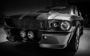 ������: Ford, Mustang, Shelby, GT500, Eleanor, Silver, Muscle car, ����, ��������