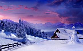 �������: winter, landscape, snow, ����, ����, ����, ������, �������