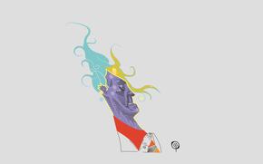 Минимализм: portrait, cgi, digital, background, file, vector, haircut, zelko, radic, bfvrp