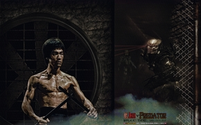 ����: WHAT IF, BRUCE LEE, DRAGON vs PREDATOR