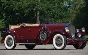 ������: classic, car, nostalgia, 1930_Pierce_Arrow_Model_B_Roadster