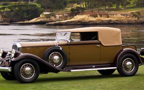������: classic, car, nostalgia, 1931_Pierce_Arrow_Model_41_Convertible_Victoria_LeBaron