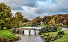 �������: Stourhead, Wiltshire, England, stourhead lake, �����, ������