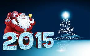 ���������: Christmas, Santa Claus, 2015, 3D, ���������, gift