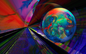 Абстракция: абстракция, 3d, art