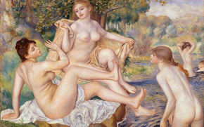 ������: ���, �������, ��������, Pierre-Auguste Renoir, The Great Bathers, ������� ��������