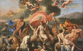 ������: ���, �������, ��������, Nicolas Poussin, The Birth of Venus