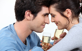 �����: girl and boy, drinking, love