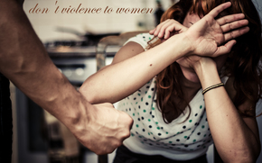 �����: don't violence to woman, don't happy, problemma