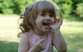 �����: baby, flower, smiling