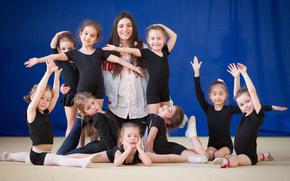 �����: child girls, sport, gymnastics