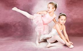 �����: balerina girls, cute baby, art