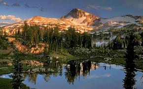 Природа: природа, америка, горы
