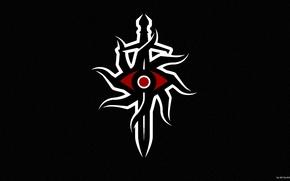 Игры: Dragon Age Inqisition, Логотип, Чёрный