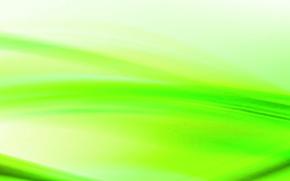 Абстракция: зеленый, белый, волна
