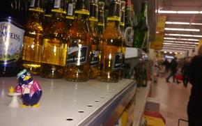 Ситуации: Киндер сюрприз, пингвин, Москва, пиво, магазин, макро, nokia n9, смысл жизни, задумчивость, мысль