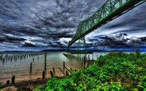 �������: Astoria Bridge, Columbia River, Oregon
