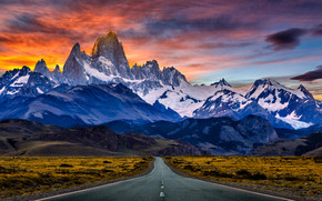 �������: �����, ����, ������, ����, ������, Andes, Patagonia, Argentina