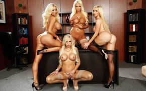 �������: Summer Brielle, Courtney Taylor, Nina Elle, Nikki Benz, ������, �������