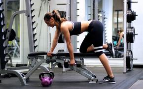 �����: girl, sport, sportswear, activewear, leggins, exercise, fitness, crossfit, dumbell, barrebell