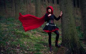 �����: girl, costume, art