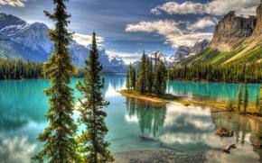 �������: Maligne Lake, Jasper National Park, �����, �������, ������