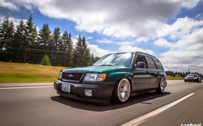 ������: Subaru, forester, stance