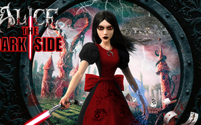 ����: Alice Madness Returns, lightsaber, for fun