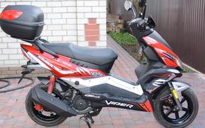 Мотоциклы: VIPER FLEX VP150M, скутер, мотороллер