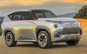 Машины: джип, 2015, Mitsubishi, прототип, GC-PHEV, concept
