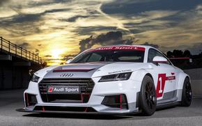 Машины: Утро, заря, авто, ралли, Audi