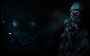 Игры: Metro 2033, Сталкер, туннель.