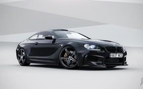 Машины: coupe, bmw, m6, черный, бмв