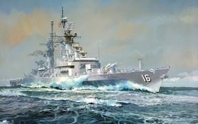 Оружие: арт, Корабль, США, американский, военный