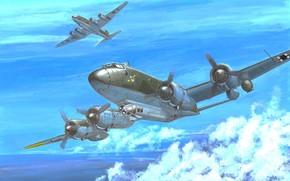 Авиация: арт, Самолет, Германский, Focke-Wulf Fw 200C-3 Condor