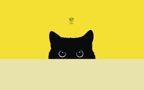 Животные: cat, kitty, zelko, radic, bfvrp, digital, vector, images, pictures, design, style