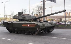 Оружие: танк, армата, т-14, бронетехника, оружие, армия
