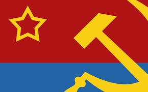 Разное: советская, украина, усср, ссср, серп, молот, звезда, серп и молот, флаг