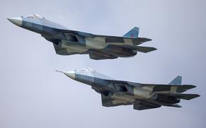 Авиация: т-50, ввс, россия, самолет, истребитель, авиация, пак фа, армия