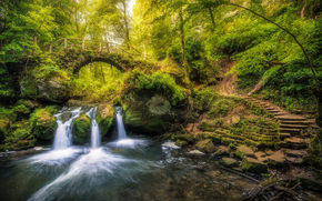 �������: Schiessentmpel, Black Ernz river, Mullerthal, Luxembourg, ���� ���� ����, ����������, ����������, �������, ����, ����, ���, ��������