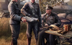 Игры: Солдаты, Вермахт, World of Tanks Generals