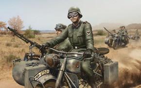 Игры: Солдаты, мотоциклисты, World of Tanks Generals
