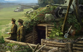 Игры: Солдаты, Танки, Пушки, World of Tanks Generals